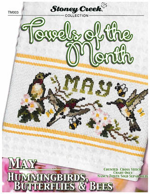 click here to view larger image of Towels Of The Month - May (chart)