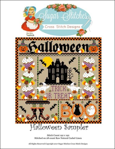 click here to view larger image of Halloween Sampler (chart)