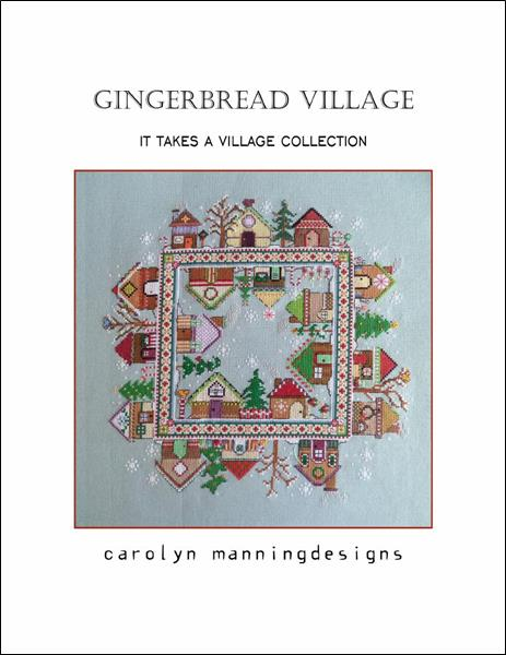 click here to view larger image of Gingerbread Village (chart)