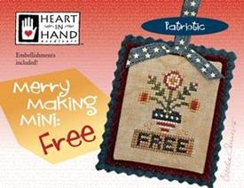 click here to view larger image of Merry Making Mini - Free (w/embellishments) (chart)