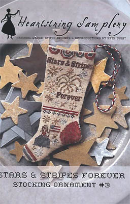 click here to view larger image of Stars and Stripes Forever Stocking Ornament 3 (chart)