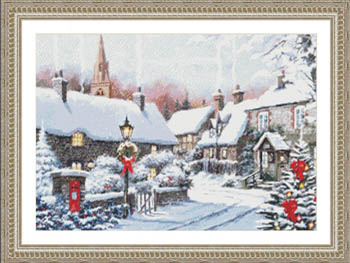 click here to view larger image of Winter Village Corner (chart)