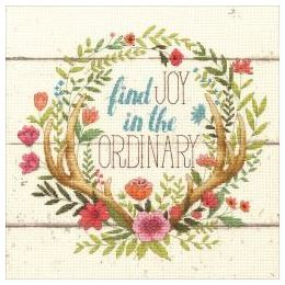 click here to view larger image of Rustic Bloom (counted cross stitch kit)