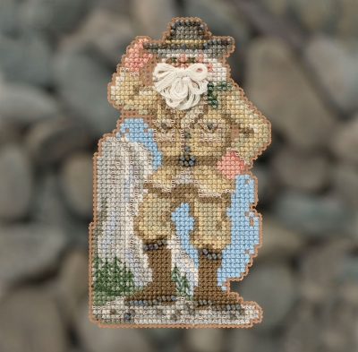 click here to view larger image of Yosemite Santa (2018) (counted cross stitch kit)