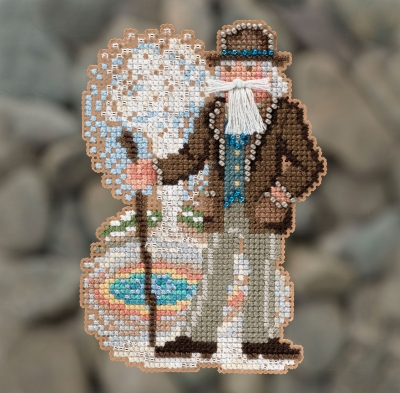 click here to view larger image of Yellowstone Santa (2018) (counted cross stitch kit)