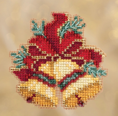 click here to view larger image of Christmas Bells (2018) (counted cross stitch kit)