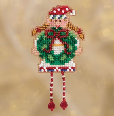 click here to view larger image of Holli Elf (2018) (counted cross stitch kit)