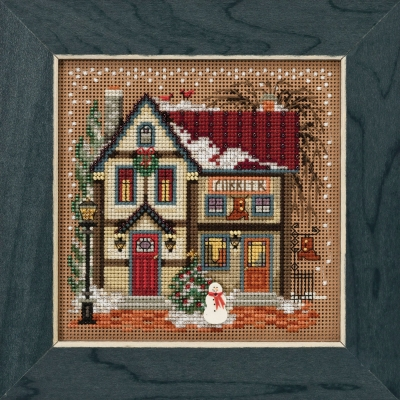 click here to view larger image of Cobbler - Christmas Village (2018) (counted cross stitch kit)