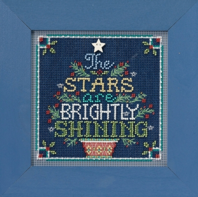 click here to view larger image of Brightly Shining (2018) (counted cross stitch kit)