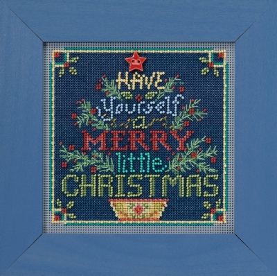click here to view larger image of Merry Little Christmas (2018) (counted cross stitch kit)