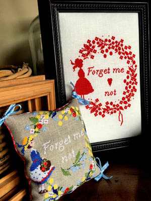 click here to view larger image of Forget Me Not (chart)