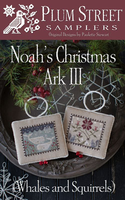 Noah's Christmas Ark III - click here for more details about chart with charms/buttons