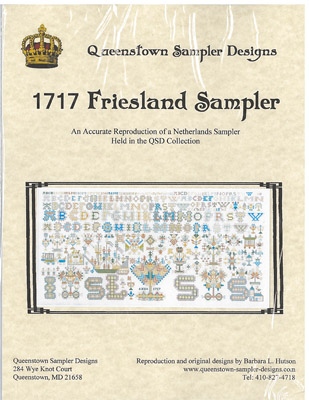 click here to view larger image of 1717 Friesland Sampler (chart)