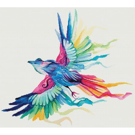 Rainbow Bird - click here for more details about chart