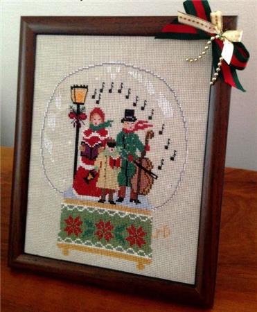 Snow Globe Carolers - click here for more details about chart