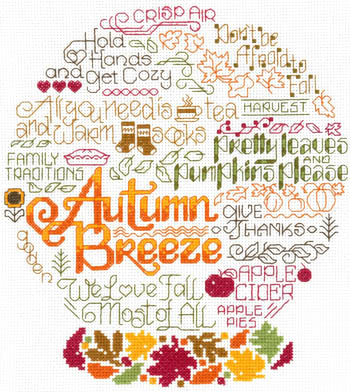 click here to view larger image of Let's Breeze into Autumn (chart)