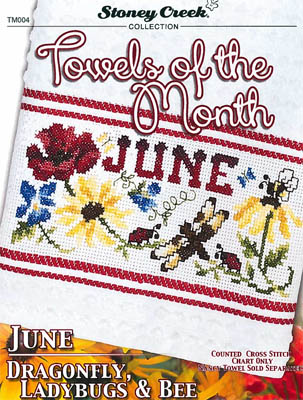 click here to view larger image of Towels Of The Month - June (chart)