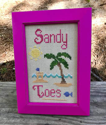 click here to view larger image of Sandy Toes (chart)