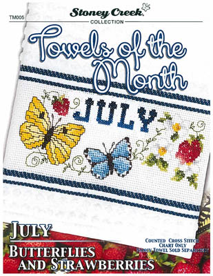 click here to view larger image of Towels Of The Month - July (chart)