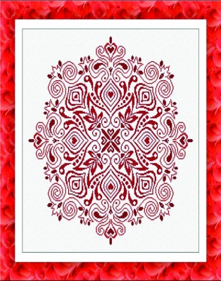 click here to view larger image of Tulip Mandala (chart)
