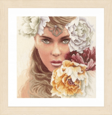 click here to view larger image of Enchanting Eyes (counted cross stitch kit)