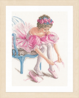 click here to view larger image of My First Dance (counted cross stitch kit)