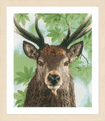 click here to view larger image of Proud Red Deer (counted cross stitch kit)