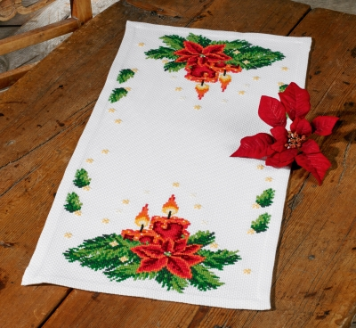 click here to view larger image of Christmas Lighting (counted cross stitch kit)