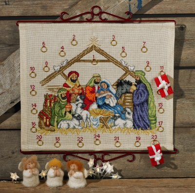 click here to view larger image of Jesus Child (counted cross stitch kit)