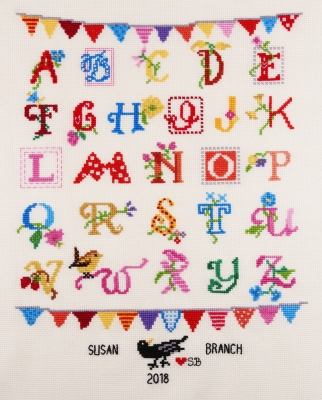 click here to view larger image of Alphabet  (counted cross stitch kit)