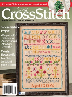 click here to view larger image of Just Cross stitch - July/August 2018 (magazines)