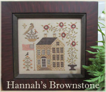 click here to view larger image of Hannah's Brownstone (chart)
