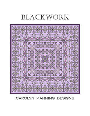 click here to view larger image of Blackwork (chart)