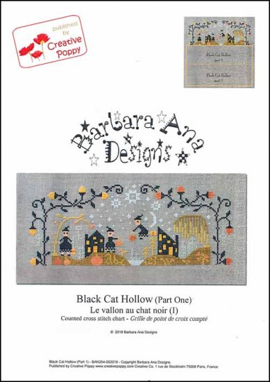 click here to view larger image of Black Cat Hollow Part One (chart)