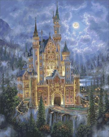 click here to view larger image of Moonlit Castle (chart)