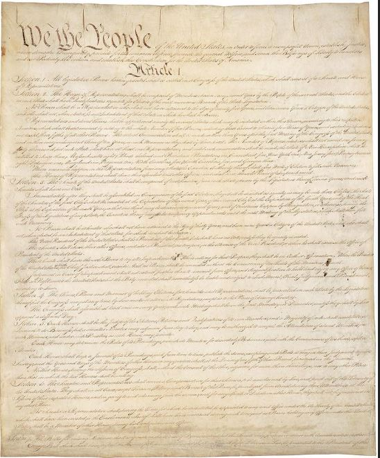 click here to view larger image of Constitution Linen - 30ct - 29.5 x 25.5 inches (fabric)