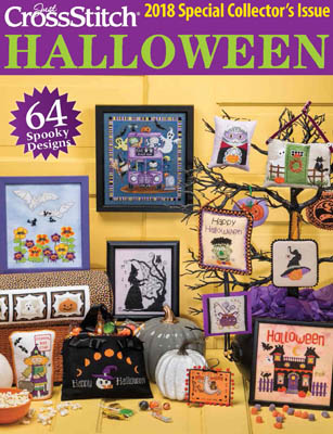 click here to view larger image of Just CrossStitch Halloween 2018 (magazines)