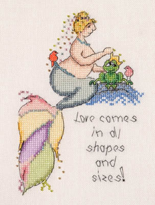 click here to view larger image of Love Comes In All Shapes And Sizes (chart)