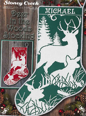 click here to view larger image of Deer In The Woods Stocking (chart)