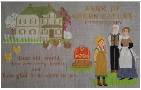click here to view larger image of Anne of Green Gables (chart)