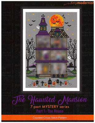 click here to view larger image of Haunted Mansion - Part 1 (chart)