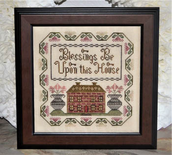click here to view larger image of Blessings Be Upon This House (chart)