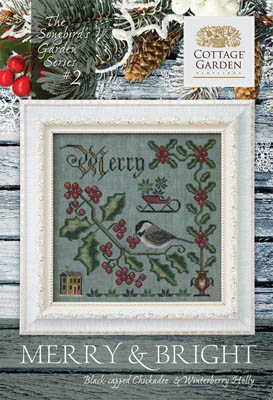 click here to view larger image of Songbird's Garden 2 - Merry &Bright (chart)
