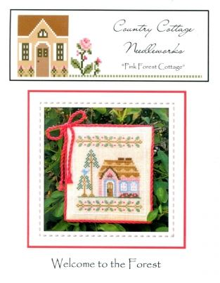 click here to view larger image of Pink Forest Cottage - Welcome to the Forest (chart)