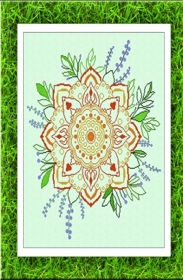 click here to view larger image of Summer Mandala (chart)