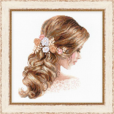 click here to view larger image of Romance (counted cross stitch kit)