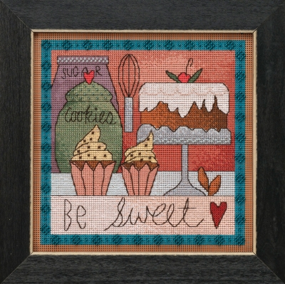 click here to view larger image of Be Sweet (counted cross stitch kit)