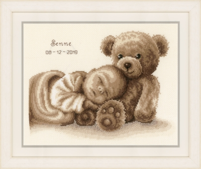 click here to view larger image of Sweet Dreams (counted cross stitch kit)