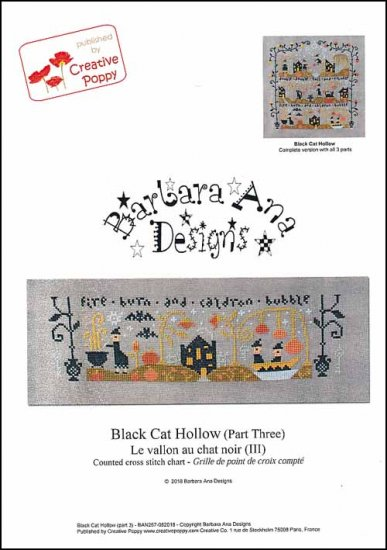 click here to view larger image of Black Cat Hollow Part Three (chart)