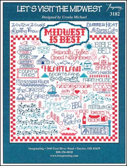 click here to view larger image of Let's Visit The Midwest (chart)